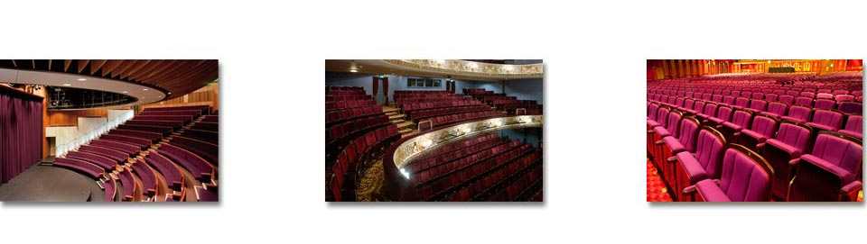 Traditional and modern auditorium seating from Kirwin & Simpson