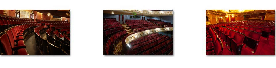 Edwardian Heritage auditorium seating at some of London's most prestigious theatres