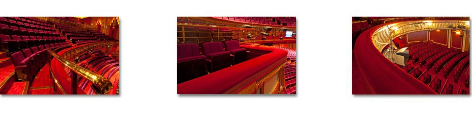 Rester rails and box fronts in London's theatre land by Kirwin & Simpson