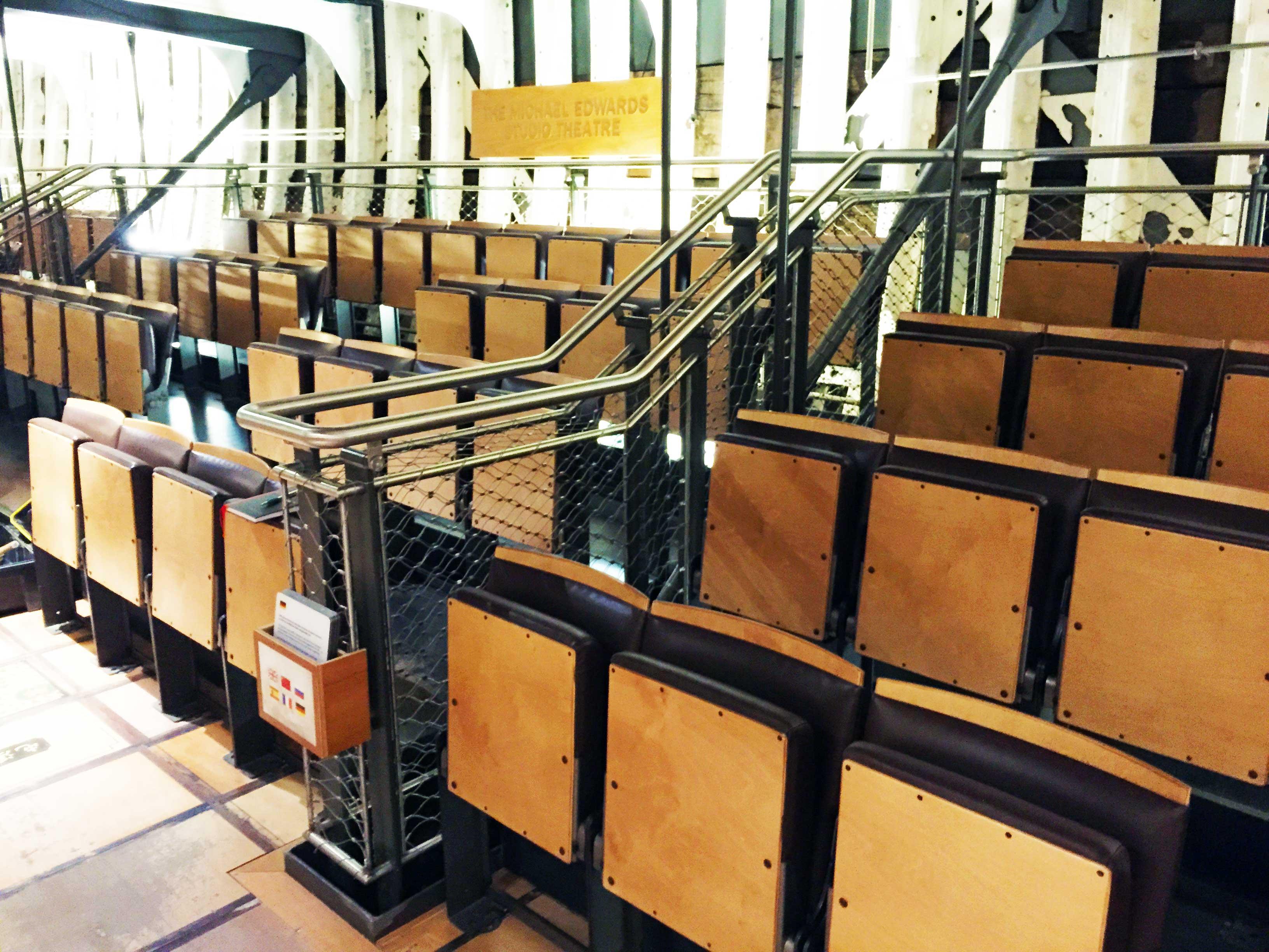 Cutty Sark custom theatre seating