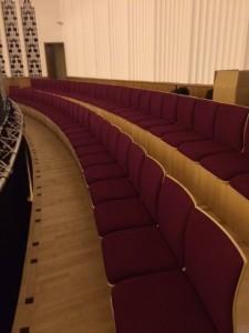 Liv Phil Choir custom seating