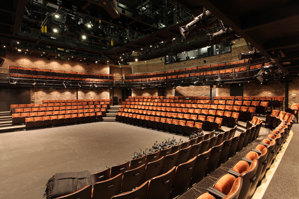Liverpool Everyman Theatre with auditorium seating by Kirwin-Simpson