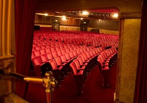 Chair removal at the London Palladium by Kirwin & Simpson