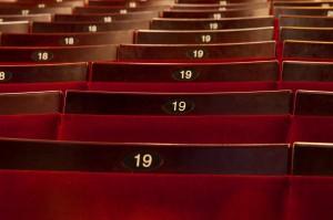 Apollo Seat Numbers theatre sundries