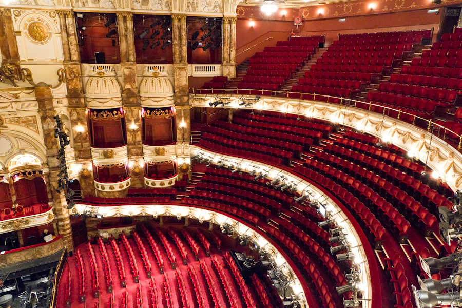 New Seating for the ENO at the London Coliseum Auditorium