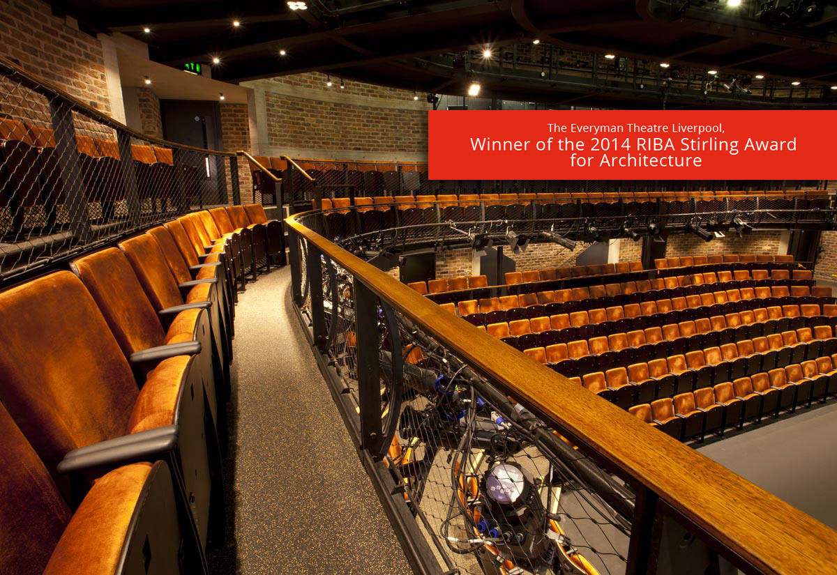 Carnaby Contemporary Removable Seats at Liverpool Everyman Theatre by Kirwin & Simpson