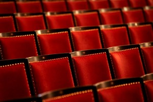 Regent Lazarus Traditional Upholstered Theatre Chairs by Kirwin & Simpson Seating