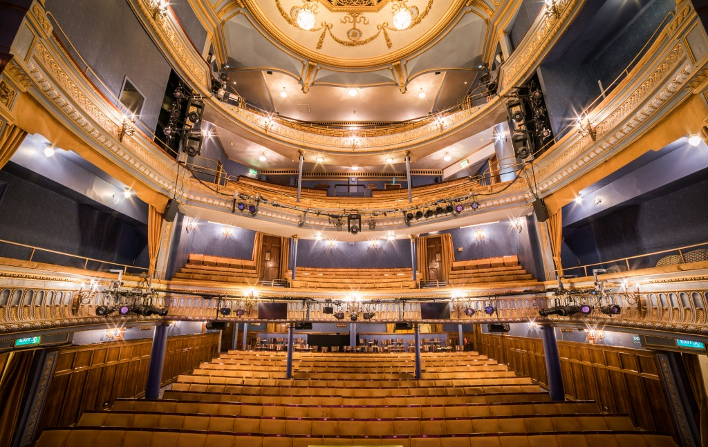New auditorium seating at the Harold Pinter Theatre, London