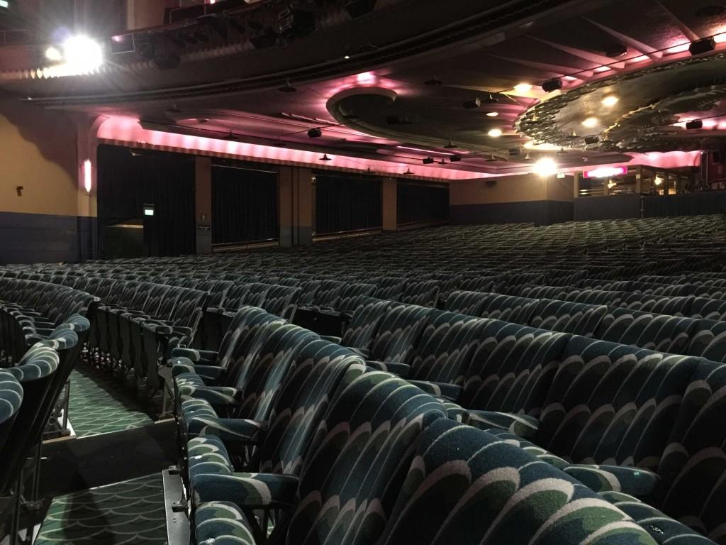 seating refurb for apollo victoria theatre in london
