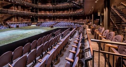 CST 3 custom theatre seating