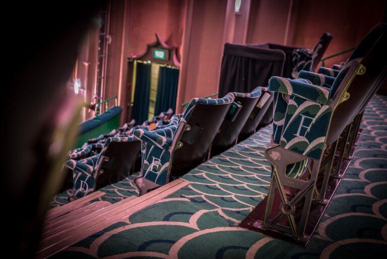 Downing Art Deco Seats at the Apollo Victoria London