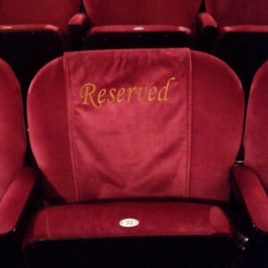 London Palladium Embroidered Seat Covers by Kirwin & Simpson Seating