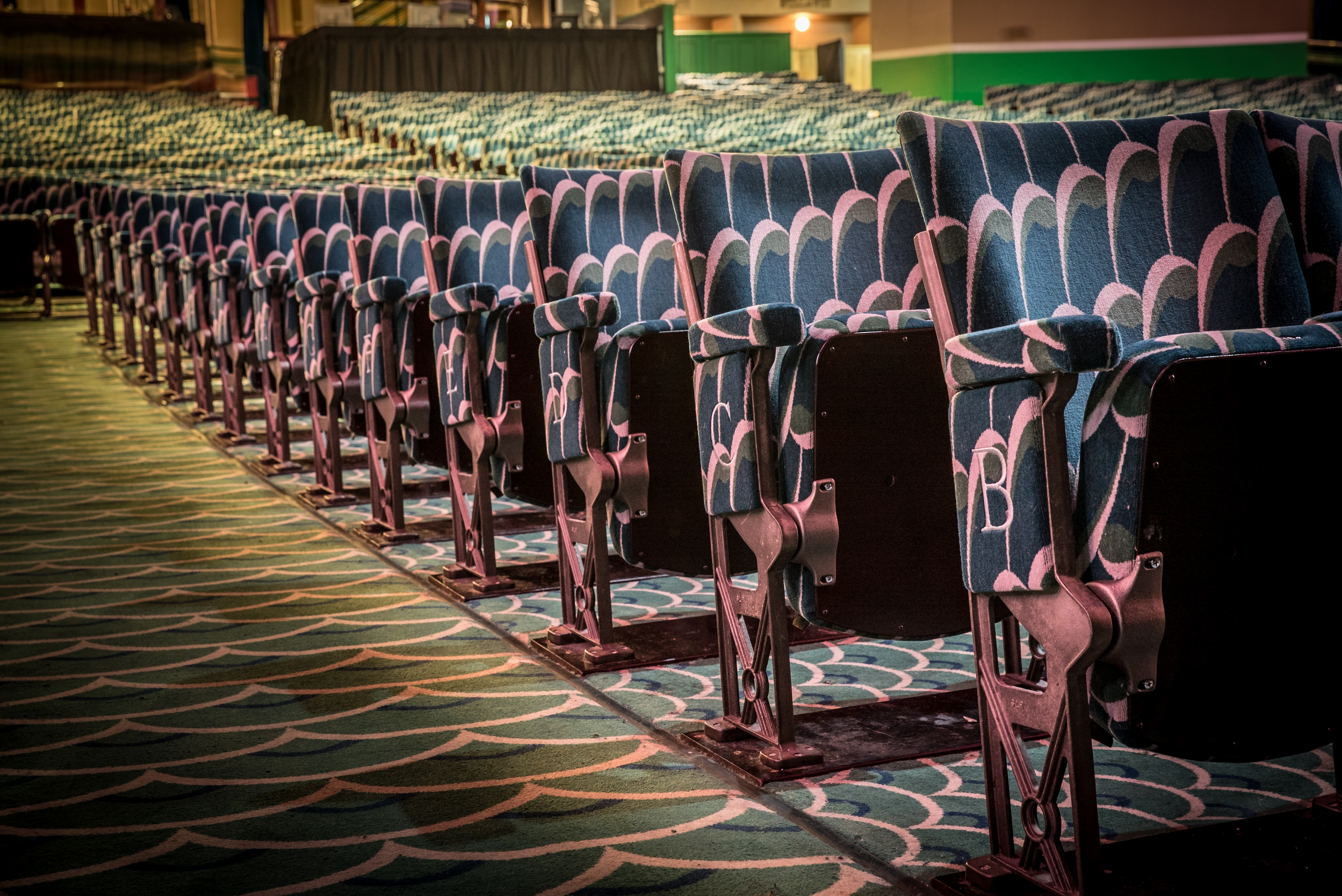 Art Deco Chairs at the Apollo Victoria London by Kirwin & Simpson Seating